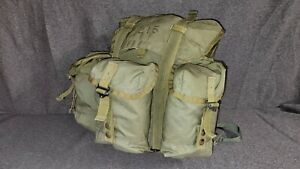 ARMY ALICE LC-2 Medium Field Pack With Shoulder Straps Nylon Rucksack Backpack