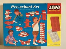 1964 Vintage Lego Samsonite Pre-school Set (041) New Unopened