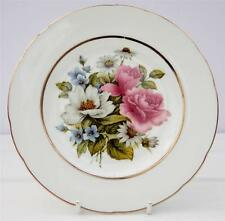 Placa de té de China Vintage país escena Hornsea Floral