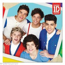 (16) ONE DIRECTION Small CAKE NAPKINS beverage ~ 1D Birthday Party Supplies