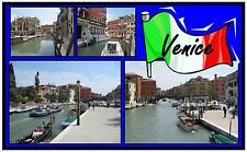 VENEZIA VISTE, Italia - Negozio di Souvenir Magnete del frigorifero - NUOVO