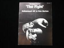 March 31, 1973 Muhammad Ali vs. Ken Norton Official On Site Program EX+