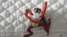 MINI 1997 WARNER BROS./APPLAUSE TASMANIAN DEVIL EATING PVC FIGURINE