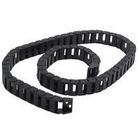 10 x 20mm 1M Ouvert sur les deux cotes Plastique cable de remorquage Cable Chain
