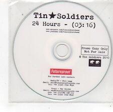 (FS656) Tin Soldiers, 24 Hours - 2010 DJ CD