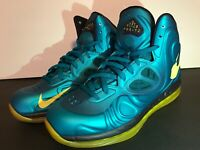 🔥Nike Air Max Hyperposite 524862-303 Tropical Teal Basketball Shoes Size 10 EUC