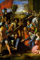 Raphael Christ Falling on the Way to Calvary - Poster 24x36 inch