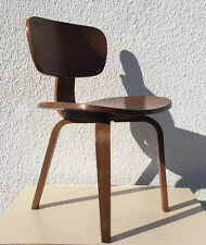 THONET Plywood Dinning Chair mid century modern era Eames DCW Cees Braakman 1950