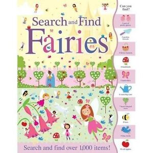 Search and Find Fairies by Susie Linn Book The Cheap Fast Free Post