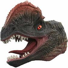 Dinosaur Hand Puppet Dilophosaurus Realistic Soft Plastic Hand Puppet Toy Kids