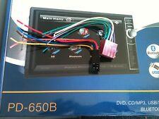 Power Acoustik PD-650 PD-650B POWER PLUGS 2 PC