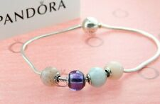 PANDORA Essence Bracelet with Four Charms