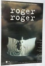 Cartel Roger roger Teatro Fascati aerodinámico liefersdrama vintage, Nº frame