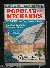 Popular Mechanics Magazine Feb. 1965 Silencing Squeaky Steps & Floors