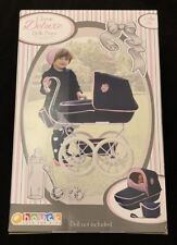 Hauck Classic Deluxe Vintage Dolls Pram Pushchair Buggy Set Doll Toy Girls Gift