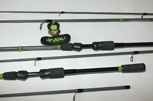 Gunki Trooper Spinnruten alle Varianten 1,80m-2,40m  Spin+Cast + 1Paar Rod Band