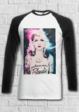 Blondie Debbie Harry Gentlemen Men Women Long Short Sleeve Baseball T Shirt 2325