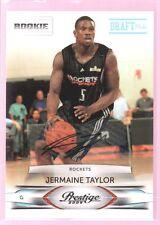JERMAINE TAYLOR 2009-10 PRESTIGE ROOKIE AUTOGRAPH AUTO RC ROCKETS /699 $15