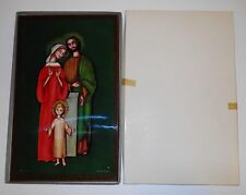 The Holy Family Picture - Jesus, Mary, Joseph 2006 Printed In Italy New In Box