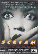 SCREAM David Arquette DVD R4 - Wes Craven