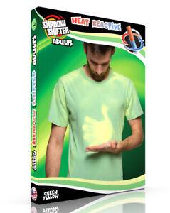 Shadow Shifter ADULT GREEN Men's/Unisex Color Changing T-Shirt Heat Sensitive