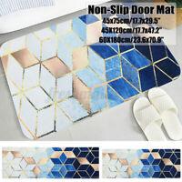 Non-Slip Kitchen Floor Mat Washable Machine Rug Door Large Runner Carpet -