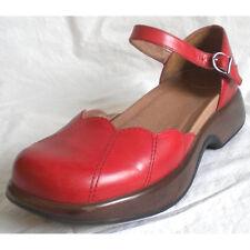Dansko Mary Janes Shoes Sandals Slingbacks Red Women 8.5-9 / 39 - Excellent