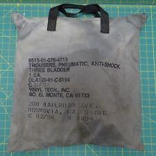 USGI Military Anti-Shock Trousers Vinyl Tech EMT EMS Fire Rescue
