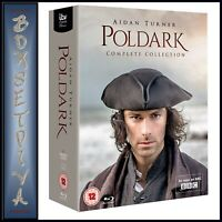 POLDARK THE COMPLETE COLLECTION SERIES 1 2 3 4 5  **BRAND NEW BLURAY BOXSET**