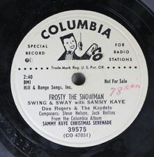 Hear! Christmas Promo 78 Sammy Kaye Christmas Serenade - Frosty The Snowman / Sa