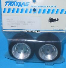 Traxxas 1431 Fiero GTP Rear Chrome Wheel Sponge Tire Vintage RC Part