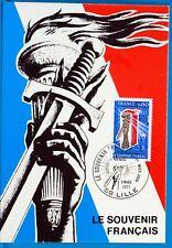 LE SOUVENIR FRANCAIS    FRANCE  CPA Carte Postale Maximum  Yt 1926 C