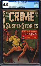 Crime SuspenStories 24 CGC 4.0