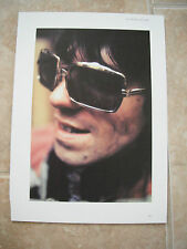 Rolling Stones Keith Richards Vtg Candid Coffee Table Book Photo #3