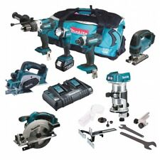 MAKITA 18V LI-ION 7 PIECE KIT WITH 3 X 5.0AH BATTERIES AND LXT600 TOOL BAG