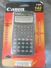 scientific calculator canon F-604