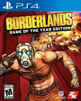 Borderlands Game of The Year Edition - PS4 US ENGLISH NEW SEALED PLAYS PAL/NTSC