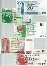 Hong Kong  ✨ 5 pieces HKD320 banknote ✨ Collections & Lots ✨ UNC!!!!!!!!!!