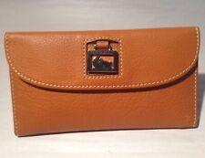 Vintage Dooney Bourke Wallet NWT Pebbled Leather In Desert 3U507DE
