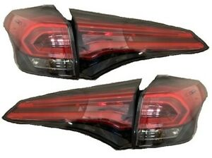 FITS TOYOTA RAV4 2016-2018 LED OUTER INNER TAILLIGHTS TAIL LAMPS LIGHTS 4PC SET