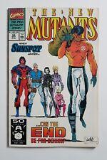 NEW MUTANTS #99 Marvel 1991 ~ 1st Appearance of Shatterstar ~ Deadpool 2