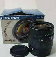 Quantaray 28-80MM Lens for Canon SLR DSLR Lens *Good/Tested* with box