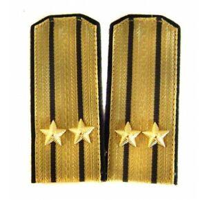 USSR Navy epaulettes parade shoulder boards