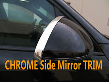 NEW Chrome Side Mirror Trim Molding Accent for audi01-07