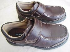 New Kids TOMMY HILFIGER Brown Faux Leather Shoes (US 2 / EU 33.5)