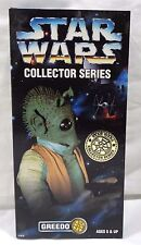 "Star Wars Collector Series Greedo 12"" Figure Kenner NIB"