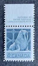 Canada #335 MNH Stamp 1954 - Wildlife - Walrus