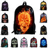 Cool Skeleton Skull Backpack Kids School Bag for Boys Girls Rucksack Knapsack