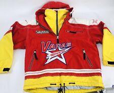 VAPAS Freestyle Ski Team Star Red Blue Ski Snowboard Pullover Jacket Large