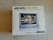 New Open Box 30Gb Archos 605 Wifi Digital Media Mp3 Player